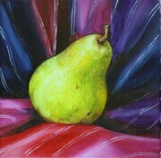 Pear with Mexican Scarf