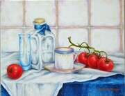 Still Life with Cocktail Tomatoes